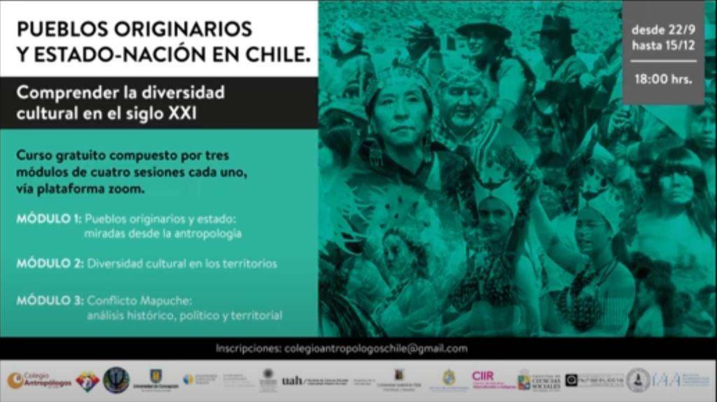 Sesión 3 / Módulo 3 – «Curso Pueblos Originarios y Estado-Nación en Chile».